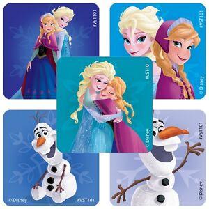 25 Disney Frozen Stickers Party Favors Teacher Supply Olaf Anna Elsa