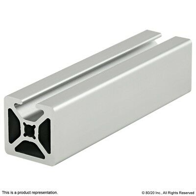 8020 Inc 10 Series 1 X 1 Smooth Single Slot Alum Extrusion 1001-s X 96.5 N