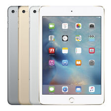 "Apple iPad Mini 4 128GB iOS WiFi 4G LTE ""Factory Unlocked"" 4th Gen Tablet"