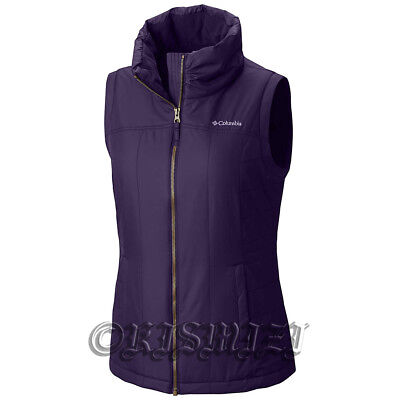 "New Womens Columbia ""Shining Light"" Water-Resistant Insulated Vest XS-S-M"