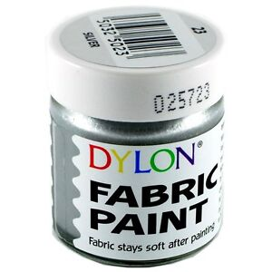 25ml JAR DYLON FABRIC CLOTHES PERMANENT PAINT SOFT DYE