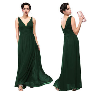 New Fashion Women's Long Evening Bridesmaid Formal Dress Party Prom Gown