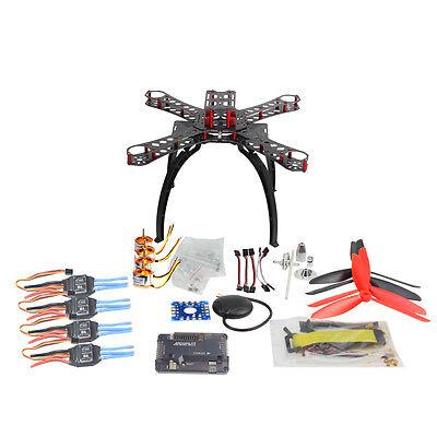 DIY RC Multicopter FPV APM2.8 GPS Drone X4M310L Glass Fiber Frame Kit 1400KV