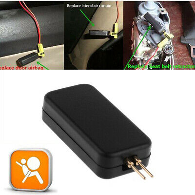 1X Car Airbag Simulator Emulator Resistor Bypass SRS Fault Finding Diagnostic