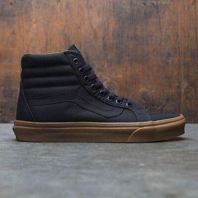 Vans Sk8-Hi Reissue Canvas Skate Shoes Men's Size 10 Black/Gum