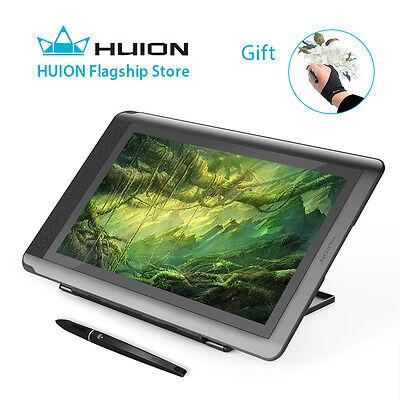 Huion KAMVAS GT-156HD Pen Display Drawing Monitor Graphics Tablet 15.6'' US Ship