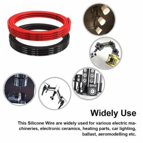 8 10 12 14 16 20 22 AWG 5M Silikon Kabel Flexibel Draht für RC Auto