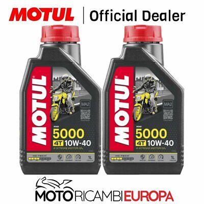 2 LITRI OLIO MOTORE 4T MOTUL 5000 10W40 ( MOTO SCOOTER 4 TEMPI )