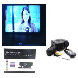 Black-UC28-PRO-HDMI-Portable-Mini-LED-Projector-Home-Cinema-Theater-AV-VGA-USB