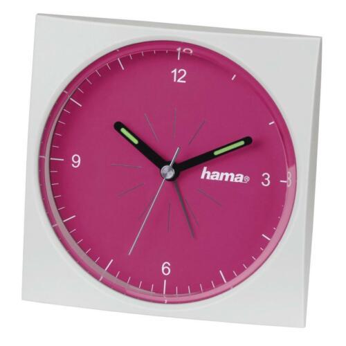 Hama analoger Wecker A400 fluoreszierend, pink 113973