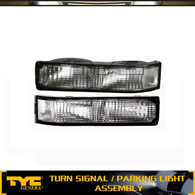 TYC 2X Turn Signal/Parking Light Lamp Front LH+RH For 92-99 Chevy C1500 Suburban Gmc C1500 Parking Light