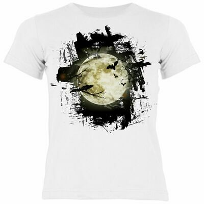 Halloween T-Shirt - Vollmond - Kinder Shirt - - Halloween Vollmond