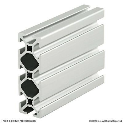 8020 Inc 10 Series 1 X 3 Smooth Tslot Aluminum Extrusion 1030-s X 96.5 Long N