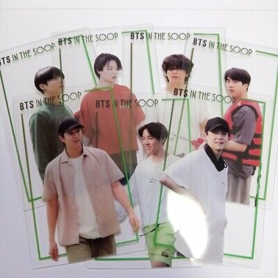 BTS In The Soop Pre-order Benefit Transparency  Photo card  Set 7ea