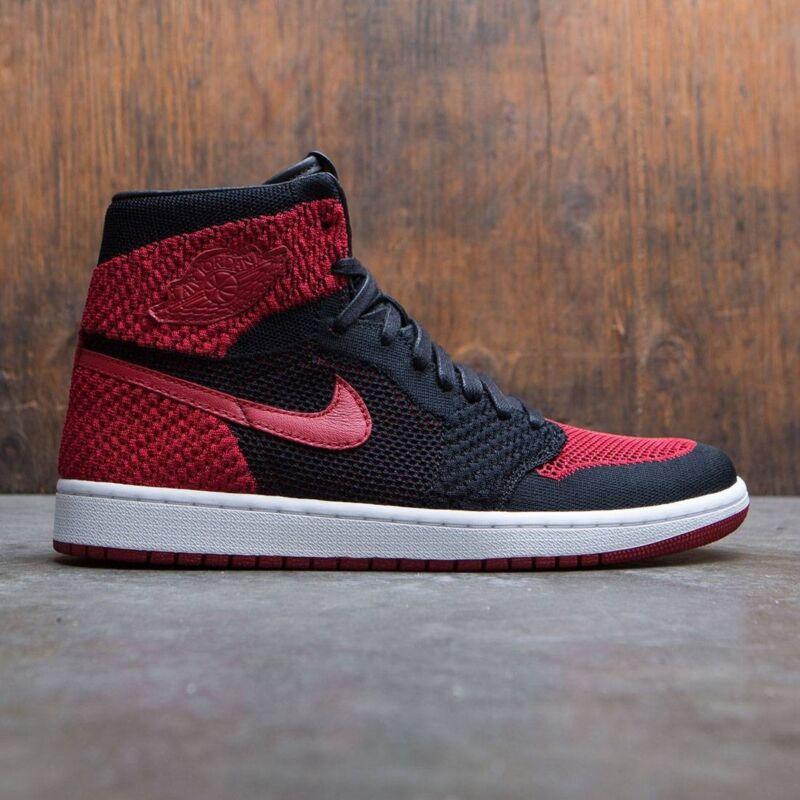 a728383a582d Nike Air Jordan 1 Retro High OG Flyknit Bred Banned size 8. 919704 ...