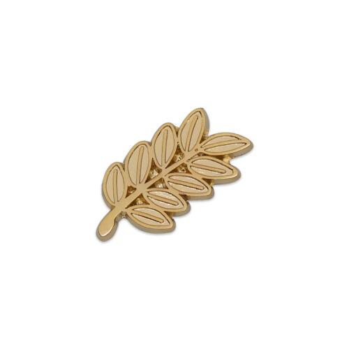 Acacia Sprig Masonic Lapel Pin - [Gold][1