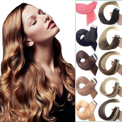 Best Quality Remy Human Hair Extensions Seamless Tape in Weft PU Hair (Best Quality Weft Hair Extensions)