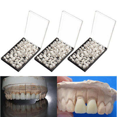 3boxes Dental Temporary Crown Tooth Material Veneers For Anterior Front Teeth Us
