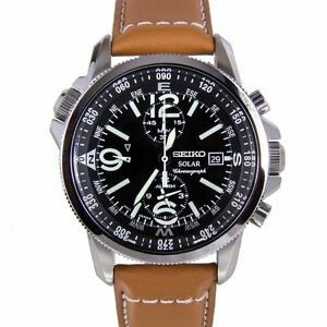 Seiko Men's SSC081 Adventure-Solar Classic Watch - The full details