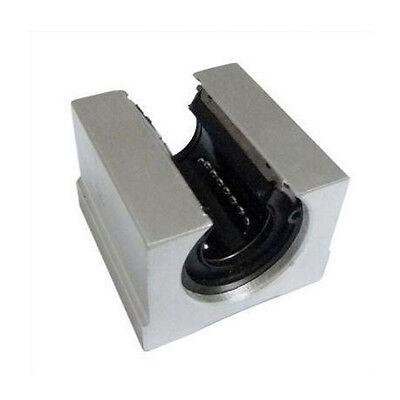 2pcs 12mm Sbr12uu Router Motion Bearing Solide Block Unit Xyz Cnc Sbr Series