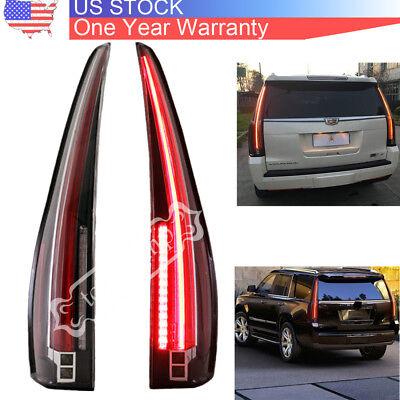 LED Tail Lights Fits Cadillac Escalade 2007-2014 Rear Lamp 2016 Model Assembly
