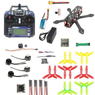 JMT 220mm DIY FPV Racing Drone Quadcopter Kit with F3 FC 2300KV Motor 20A ESC