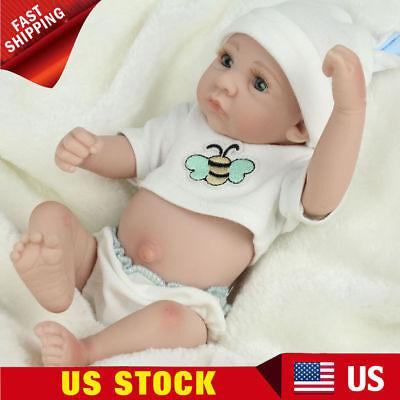 cdd8fc9ac53c Newborn 10   Lifelike Handmade Reborn Baby Dolls Full Body Silicone Boy Doll  for sale