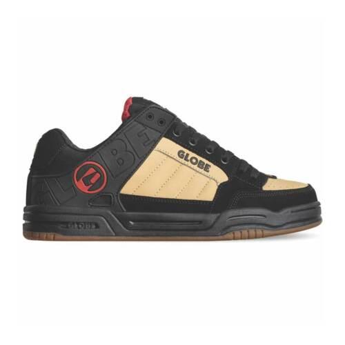 Globe Skateboard Shoes Tilt Black/Khaki/Red