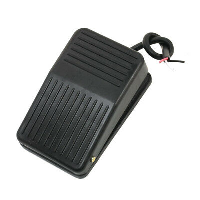 Foot Pedal Switch 220v 10a Spdt Nonslip Black Plastic Momentary Onoff Control