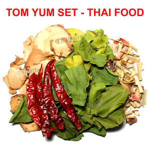 Tom yum set dried herbs spice mixture for delicious thai for 8 spices thai cuisine