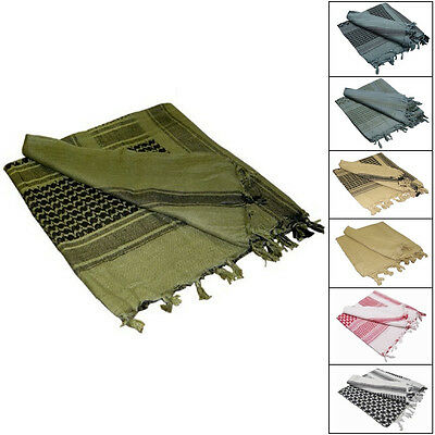 Condor - Shemagh Tactical Scarf Head Wrap 100% Cotton - Choice of 7 Colors  #201