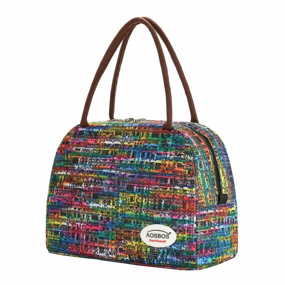 Lunch Bag for Women Insulated Lunch Box Large Cooler Tote Ba