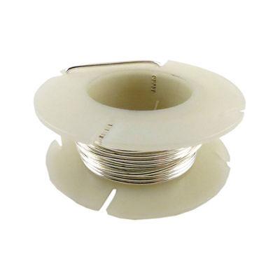 90%Fine Silver Precious Metal Wire Sterling Silver Round 18-20-22-24-26-28-30 ga