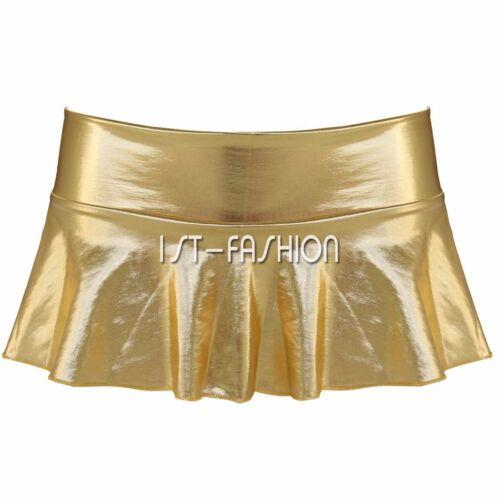 how to wear metallic mini skirt