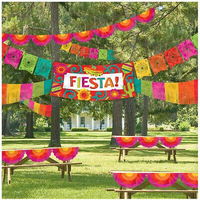 Fiesta Cinco De Mayo Party Giant Indoor Outdoor Banner Decoration - Cinco De Mayo Colors