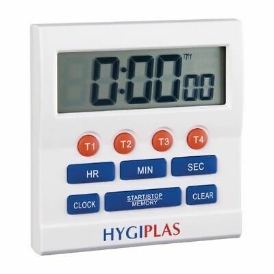 Hygiplas Big Digit Timer Countdown Controller With Multi Function Interface