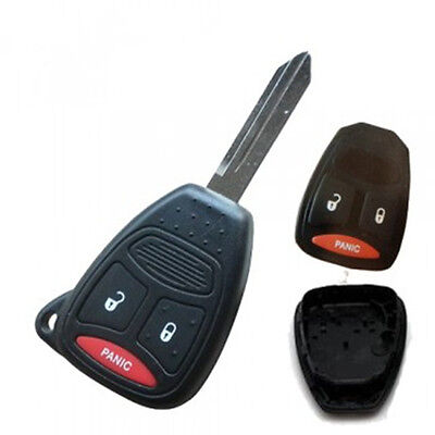 New 3 Buttons Smart Key Shell Case For 2005 2006 2007 Chrysler Dodge Magnum FOB ()