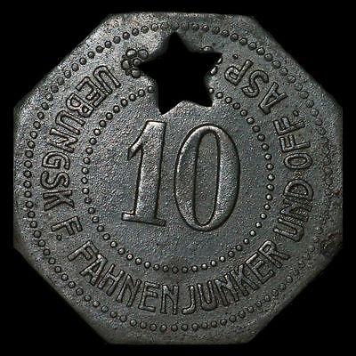WERTMARKE: 10 Pfennig. ÜBUNGSKURS F. FAHNENJUNKER & OFFIZIERS-ASP. - GRAFENWÖHR