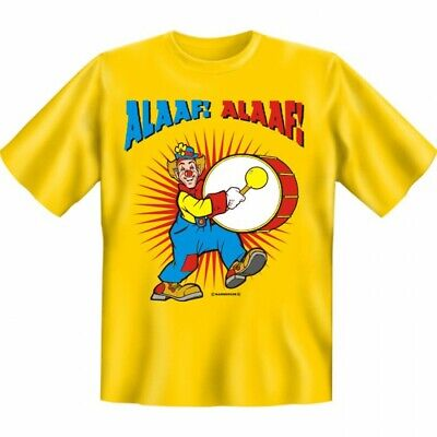 own Trommel - Motiv Shirt Fasching Karneval Kostüm Geschenk (Clown Shirt Kostüm)