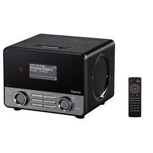 Hama IR110 Wireless Lan Internet-Radio schwarz WLAN