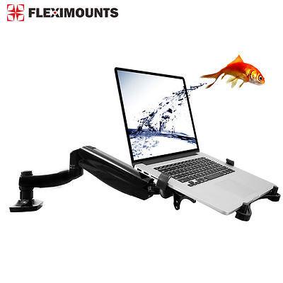 Fleximounts Desk Monitor Mount Holder Stand for Laptop Notebook Workstation Laptop Notebook Holder