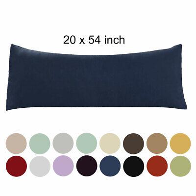 20x54 Body Pillow Case Soft 1800 Series Microfiber 1/2pack L