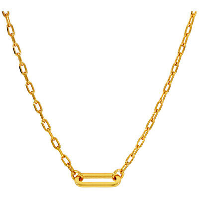 Gorjana Parker Charm Necklace, Gold 196-113-G**Open Box**