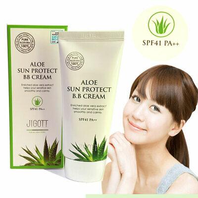 [JIGOTT] Aloe Sun Protect BB Cream 50ml /SPF41 PA ++ / Aloe vera extract / KOREA