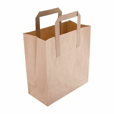 Fiesta Recycled Paper Carrier Bags - Brown Small 180(W)x215(L)mm/7x8 1/2