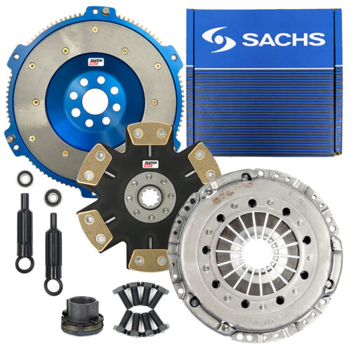 SACHS STAGE 5 PERFORMANCE CLUTCH KIT+ALUMINUM FLYWHEEL BMW M3 Z3 M COUPE S50 S52