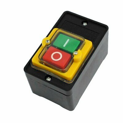Push Button Switch On Off Single Phase Start Stop Motor Electric Waterproof