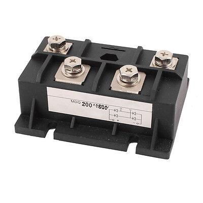 200a 1600v Diode Module Single Phase Bridge Rectifier Mdq-200a Ed