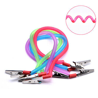 Dental Lab Instrument Scarf Bib Clips Cord Napkin Holders Spring Rope 4 Color Us