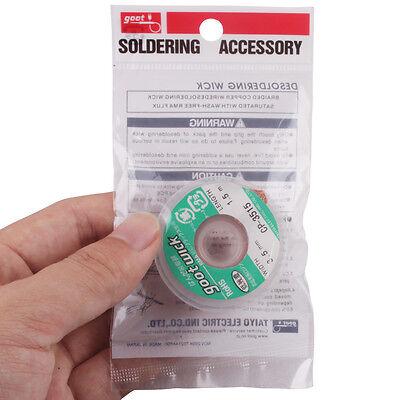 1pcs 1.5m Goot Desoldering Wick Solder Soldering Remover Cp-3515 3.5mm